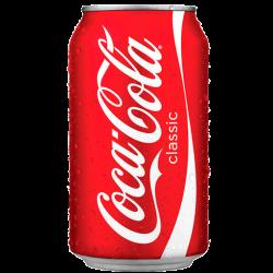 Llauna Coca Cola...